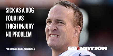 Peyton Manning Meme - no sick day for broncos manning who dominated chargers