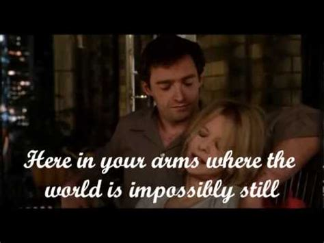 movie quotes kate and leopold sting until lyrics kate leopold youtube