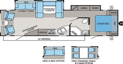 Jayco Travel Trailers Floor Plans by Eagle Travel Trailers Jayco Inc