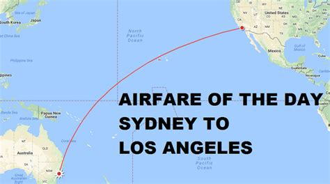 airfare   day united airlines sydney  los angeles economy class   trip