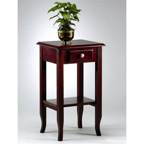 Small End Tables Phone Stand In Merlot Me04