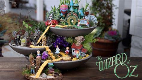 wizard  oz fairy garden garden answer youtube