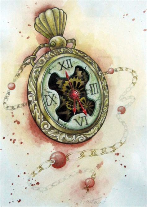 tattoo flash watch tattoo design pocket watch by stilbruch tattoo on deviantart