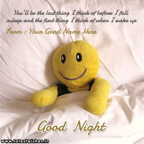 print   good night teddy bear quotes picture