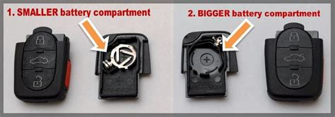 Batterie F R Audi A6 by Flip Key Fob For Audi A6 1997 1998 1999 97 98 99 Remote