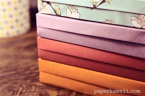 Origami Pencil Box - origami pencil box tutorial paper kawaii