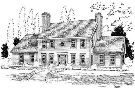 classic colonial floor plans classic colonial house plan 3723tm 2nd floor master