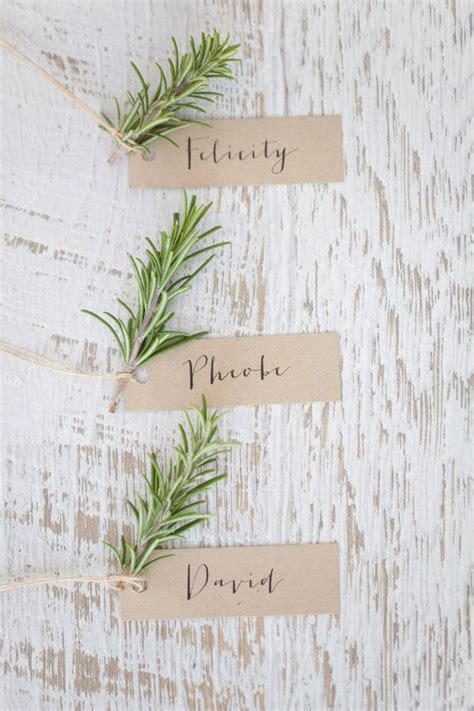 Food Stickers For Wedding Place Cards