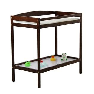 Dream On Me 2 In 1 Full Size Convertible Crib And Changing Espresso Crib And Changing Table