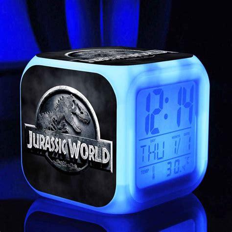 alarm clock jurassic world jurassic park store