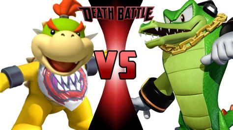 jr battle bowser jr vs vector the crocodile battle fanon