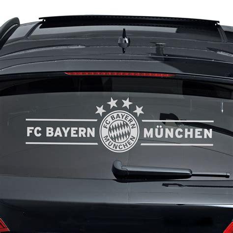 Bayern Aufkleber F R Auto by Fc Bayern M 252 Nchen Autoaufkleber Fc Bayern M 252 Nchen