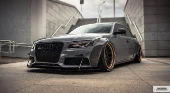 Widebody Audi A4 Audi A4 B8 Wide V A D Design Forged Wheels