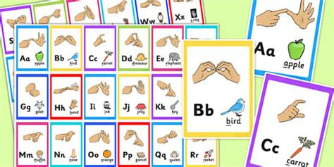 printable alphabet flash cards uk british sign language alphabet image flash cards flash cards