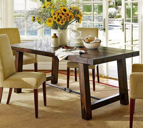 dining room table centerpieces  simple ideas