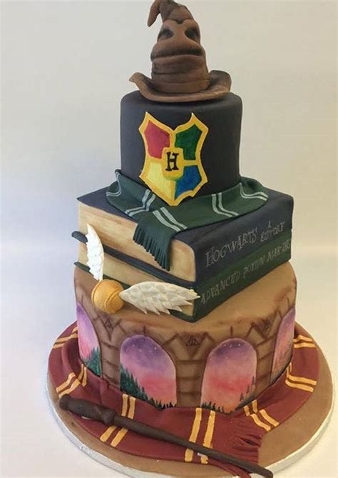 stony mesa sagas books 15 jaw droppingly gorgeous harry potter themed cakes