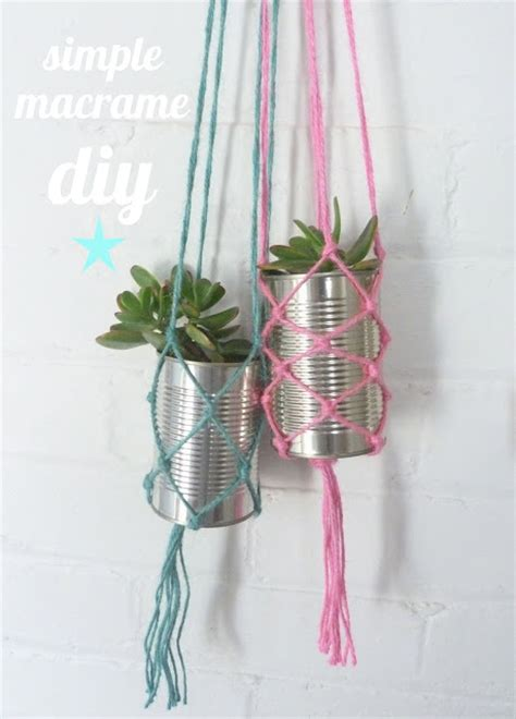 Simple Macrame - beachcomber simple macrame diy