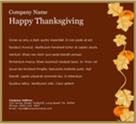 thanksgiving card email template thanksgiving card