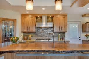 live wood edge island top contemporary kitchen san a hand hewn surface for your wooden countertop j aaron