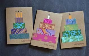 kuchen selbst gestalten geburtskarten gestalten 29 ideen zum nachbasteln