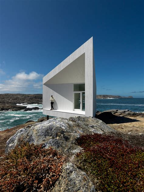 house and home design studio isle of the fogo island studios by saunders architecture in newfoundland canada yatzer