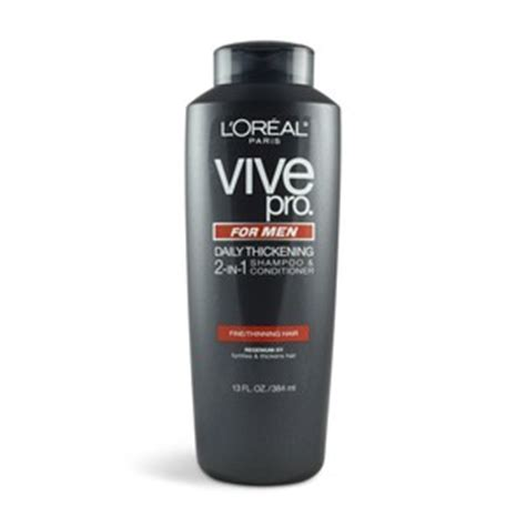 buy l oreal vive pro for daily thickening shoo pack of 2 at low prices in l oreal vive pro for daily thickening 2 in 1 shoo conditioner reviews viewpoints