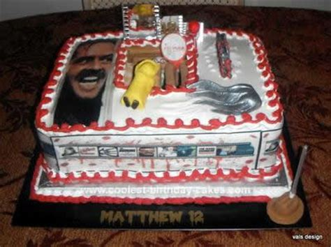 birthday themed horror movies coolest homemade horror cakes