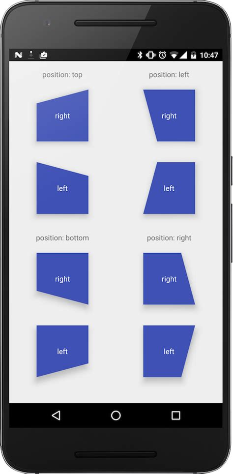 layout direction android diagonallayout with diagonal layout explore new styles and