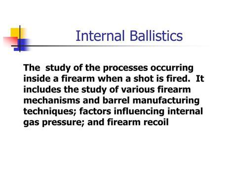 Interior Ballistics by Ppt What Is Forensic Ballistics Powerpoint Presentation