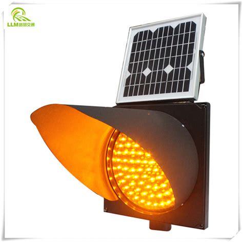 Solar Powered Warning Lights Solar Strobe Light Solar Yellow Light Solar