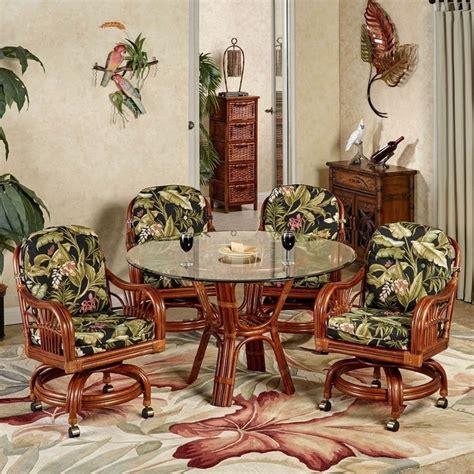 tropical dining room furniture set leikela wailea coast