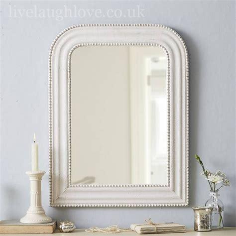 shabby chic mirror 15 best of large white shabby chic mirrors
