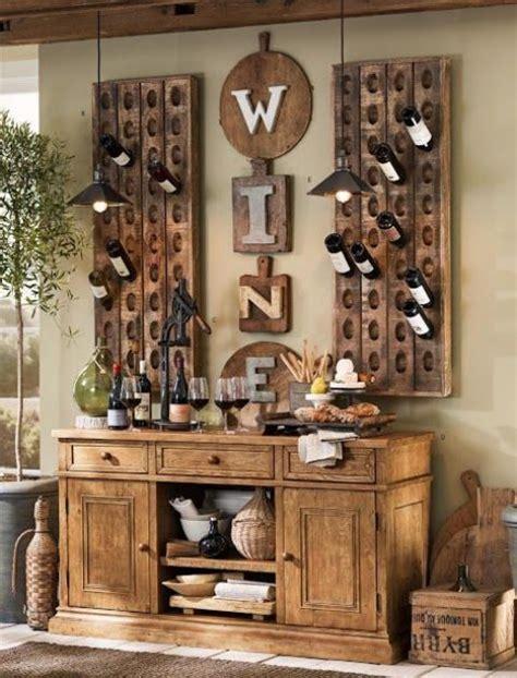 wine decor for dining room ideas originales para almacenar vino en casa