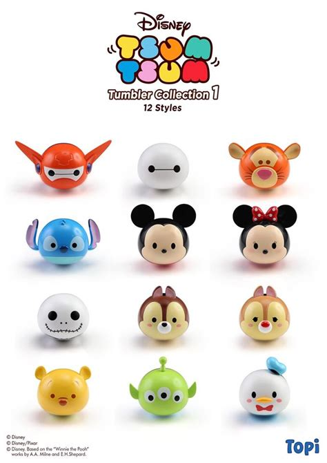 Tsum Tsum Figure Collection a closer look at the new tsum tsum tumbler figures by
