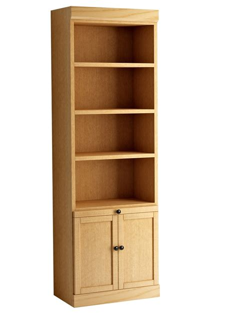 56 Best Images About Bookcase On Pinterest Solid Oak Bookcase With Doors Plans