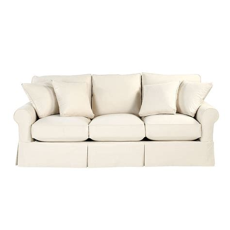 Baldwin Sofa Slipcover by Baldwin Sofa Slipcover Ballard Essentials Fabrics