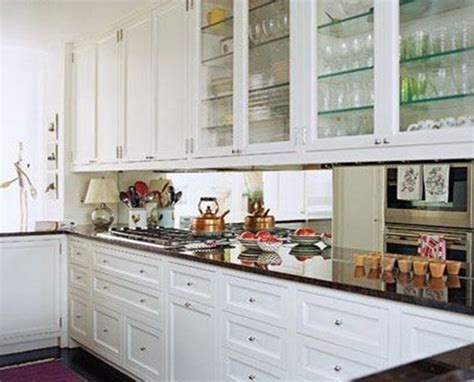 Mirrored Backsplash by 5 Ideas For The Perfect Kitchen Backsplash