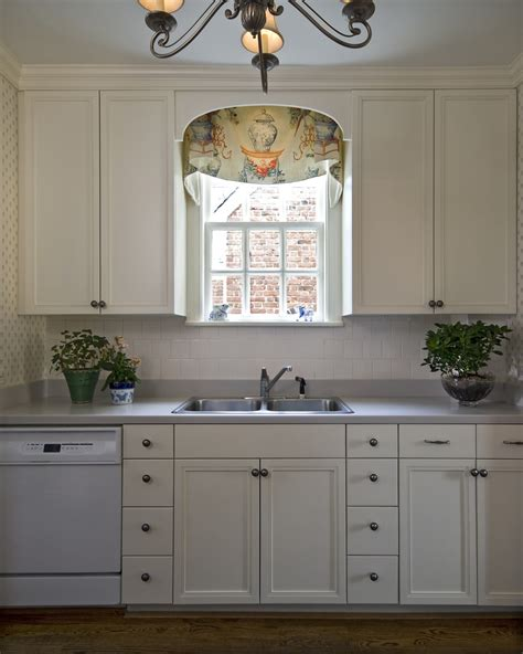 Window valance ideas kitchen traditional with blue and white kitchen chandelier frame and