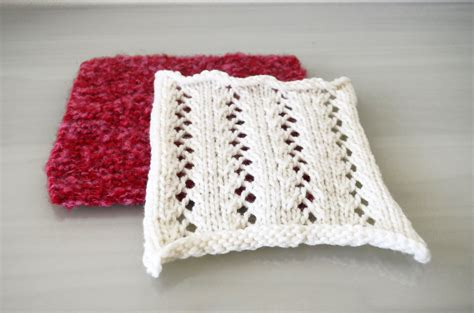 how to knit eyelet lace garter stitch and eyelet lace cottontail design