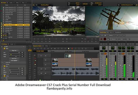 adobe photoshop cs7 full version with crack adobe dreamweaver cs7 crack plus serial number full download
