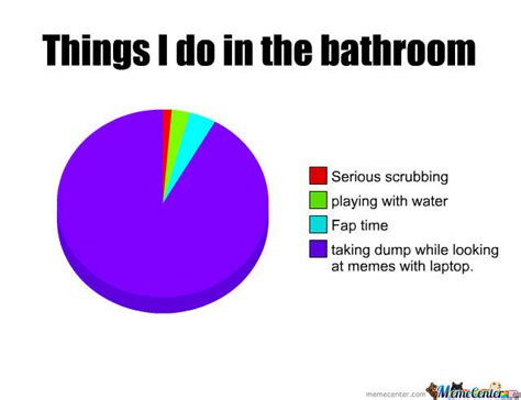 Things In The Bathroom In by Things To Do In The Bathroom By Piper Meme Center