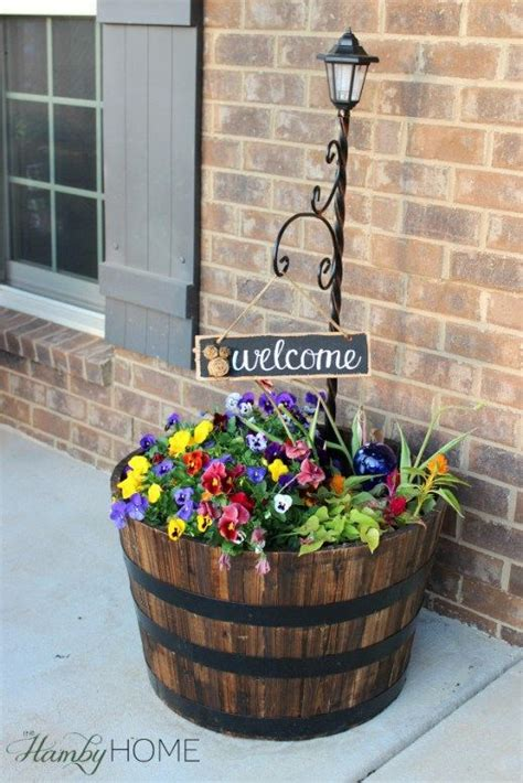 Front Garden Decor 1000 Ideas About Front Door Planters On Pinterest Front Porch Planters Front Door Plants And