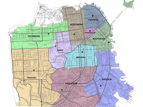 san francisco district map 2015 citywide sfpd redistricting to take effect sunday hoodline
