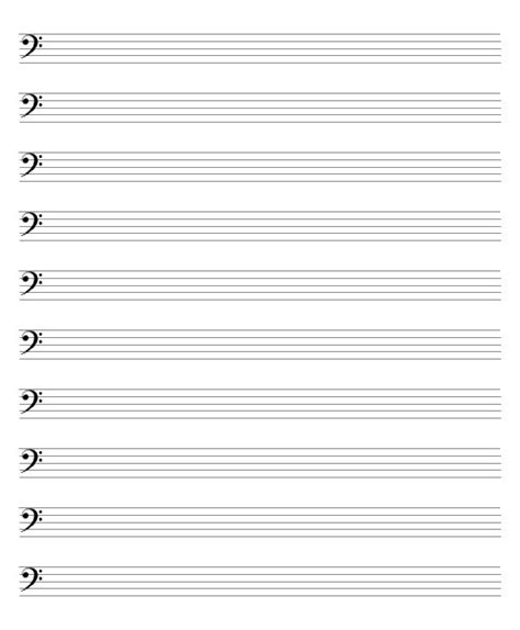printable blank sheet music alto clef blank sheet music bass clef google search music