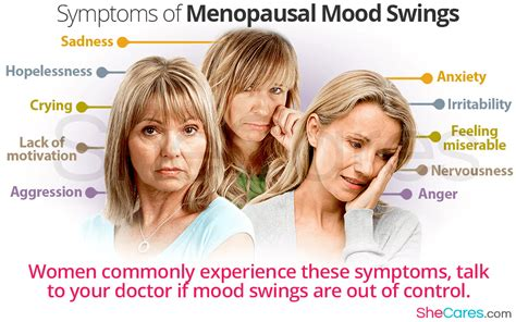 treatment for mood swings during period menopausal mood swings faqs shecares com