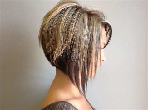 Hairstyles With Graduated Sides | side view of graduated bob haircut cute short haircut