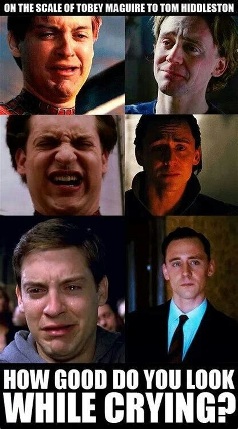 Tobey Meme - best 25 tobey maguire crying ideas on pinterest loki