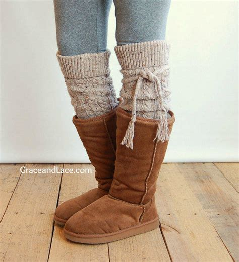 sock boots for legs alpine thigh high slouch sock oatmeal from grace and lace
