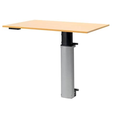 wall mounted adjustable l height adjustable computer desk wall mounted aj