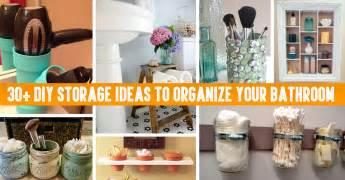 Rustic Bathroom Towel Racks - 30 diy storage ideas to organize your bathroom cute diy projects